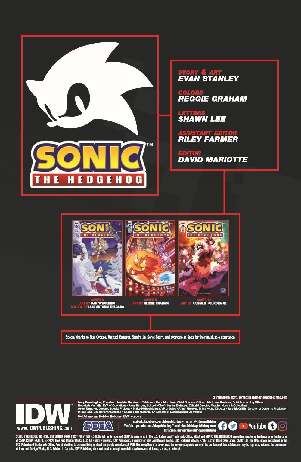 STH36_pr-2 ComicList Previews: SONIC THE HEDGEHOG #36