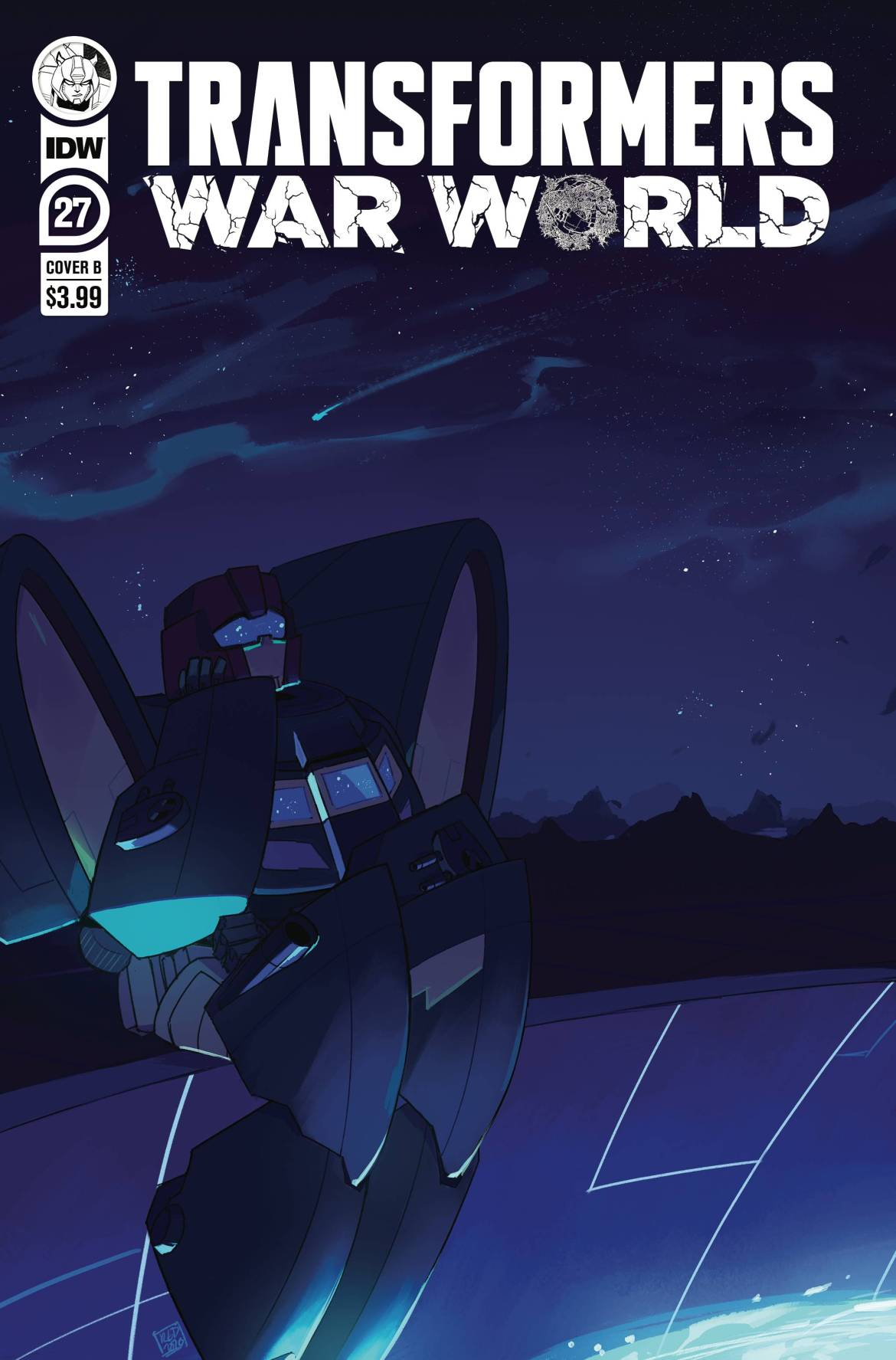 STL173340 ComicList: IDW Publishing New Releases for 01/20/2021