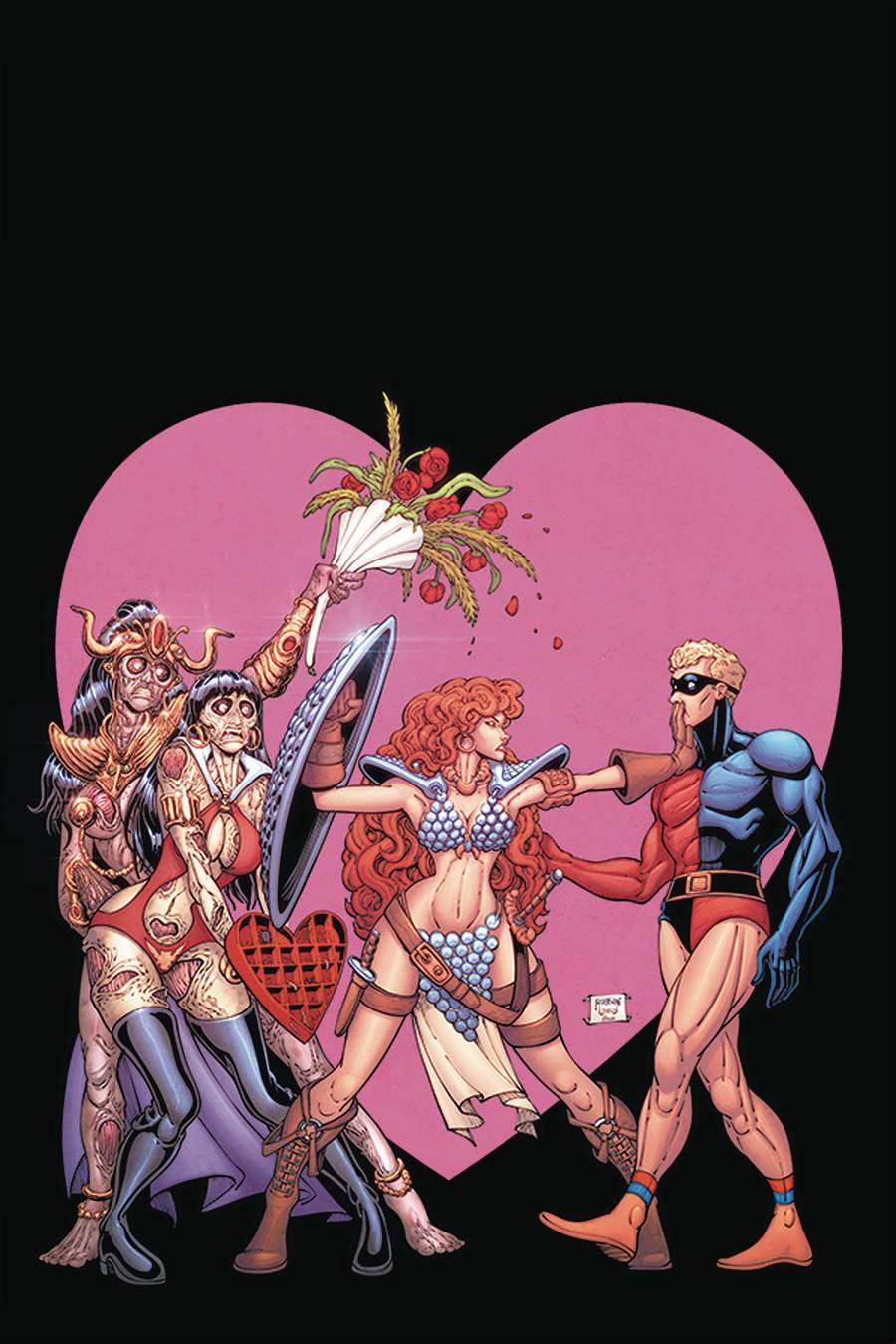 STL174649 ComicList: Dynamite Entertainment New Releases for 02/03/2021