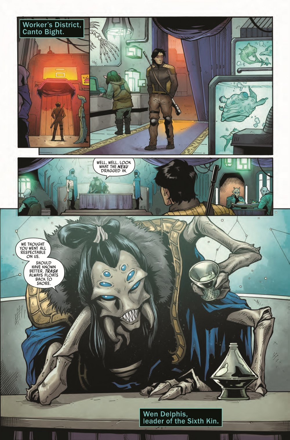 STWAPHRA2020007_Preview-3 ComicList Previews: STAR WARS DOCTOR APHRA #7