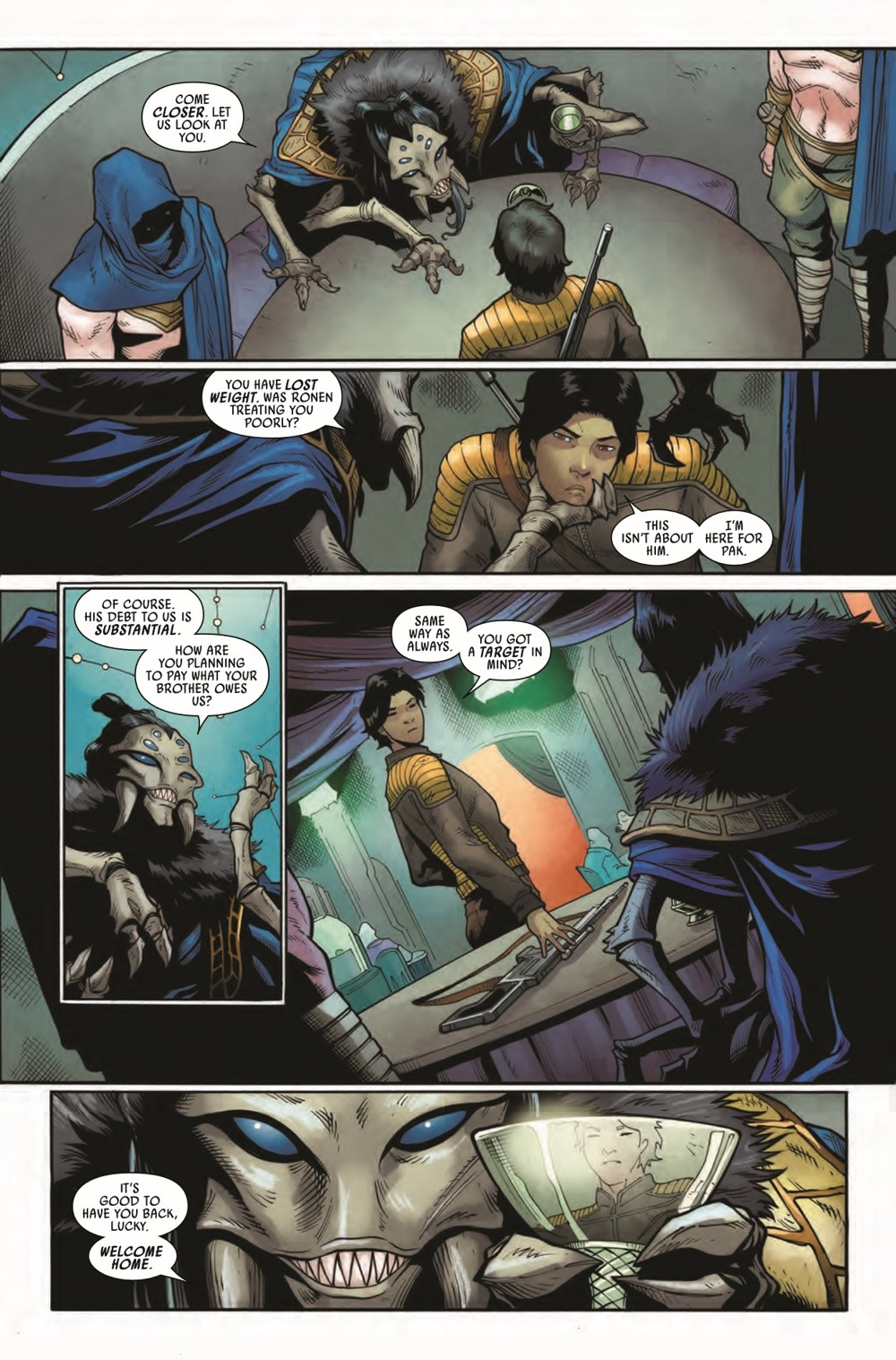 STWAPHRA2020007_Preview-4 ComicList Previews: STAR WARS DOCTOR APHRA #7