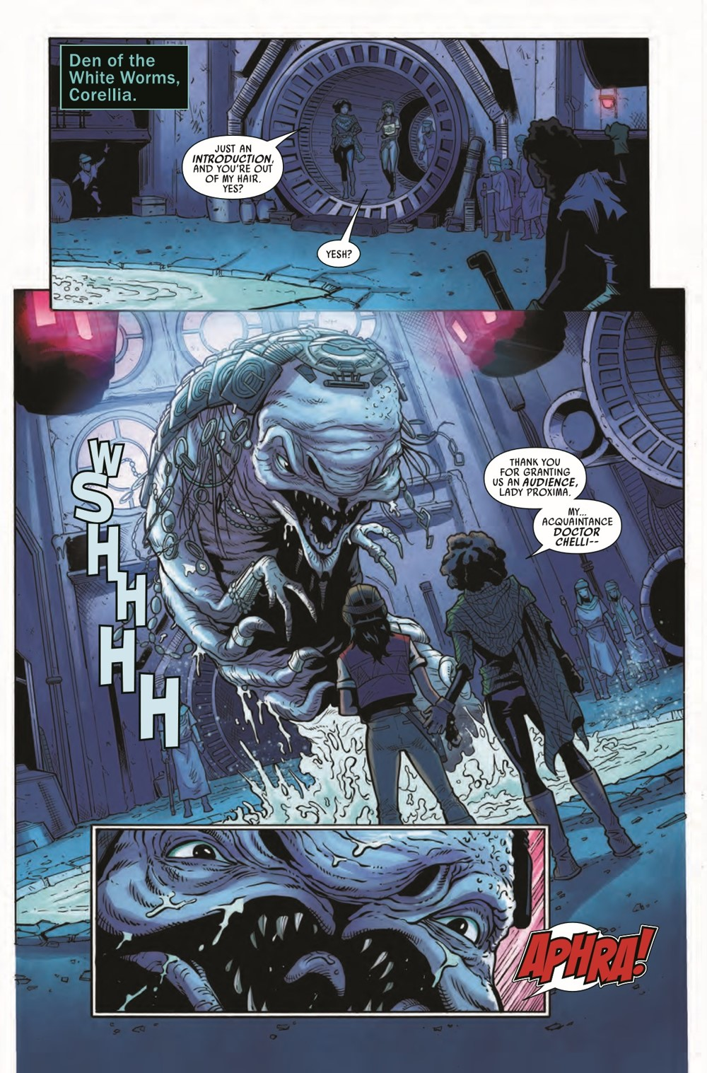 STWAPHRA2020007_Preview-5 ComicList Previews: STAR WARS DOCTOR APHRA #7