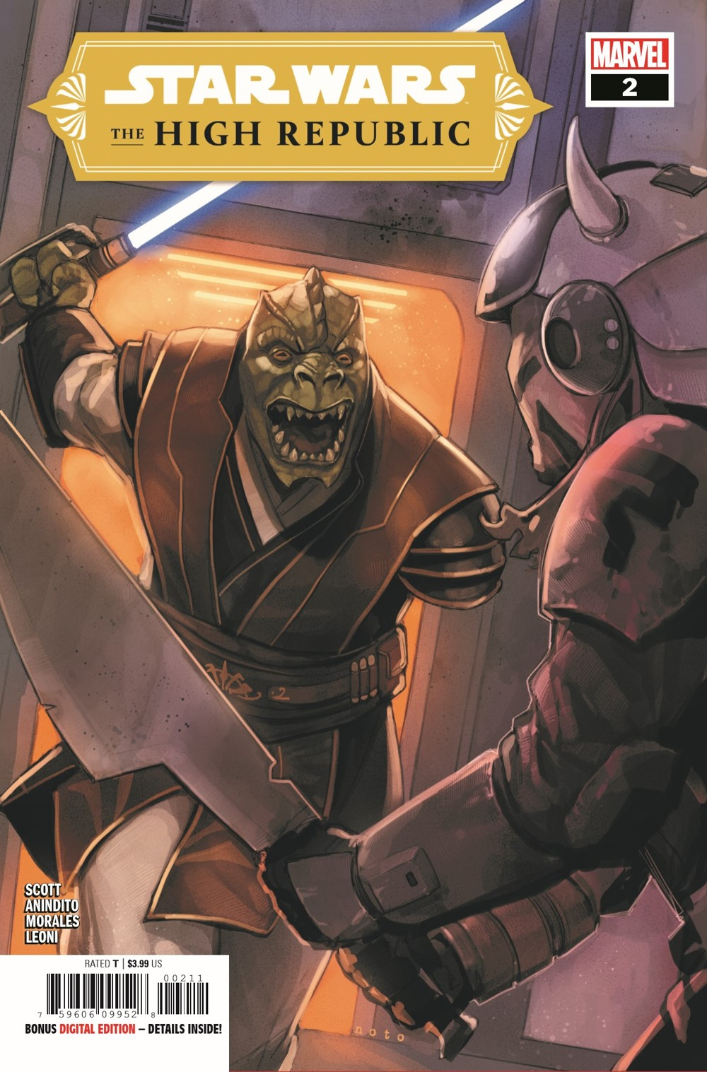 STWHIGHREP2021002_Preview-1 ComicList Previews: STAR WARS THE HIGH REPUBLIC #2