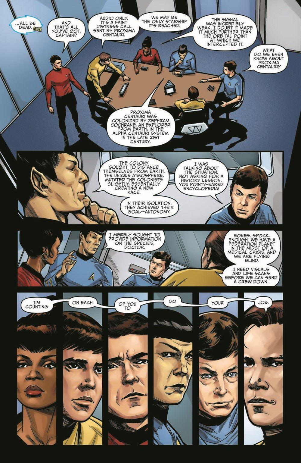 ST_YearFive18-pr-7 ComicList Previews: STAR TREK YEAR FIVE #18