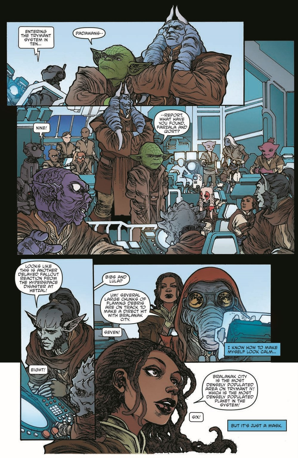 SWAHRA01-pr-6 ComicList Previews: STAR WARS THE HIGH REPUBLIC ADVENTURES #1