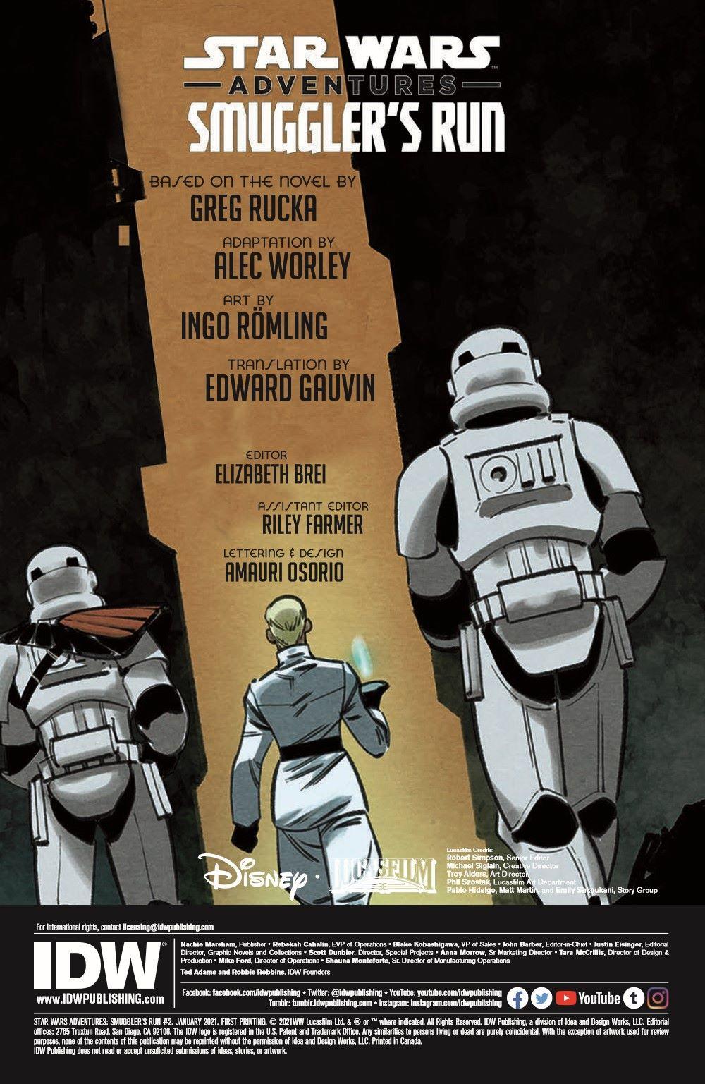 SWA_Smuggler02_pr-2 ComicList Previews: STAR WARS ADVENTURES SMUGGLER'S RUN #2 (OF 2)