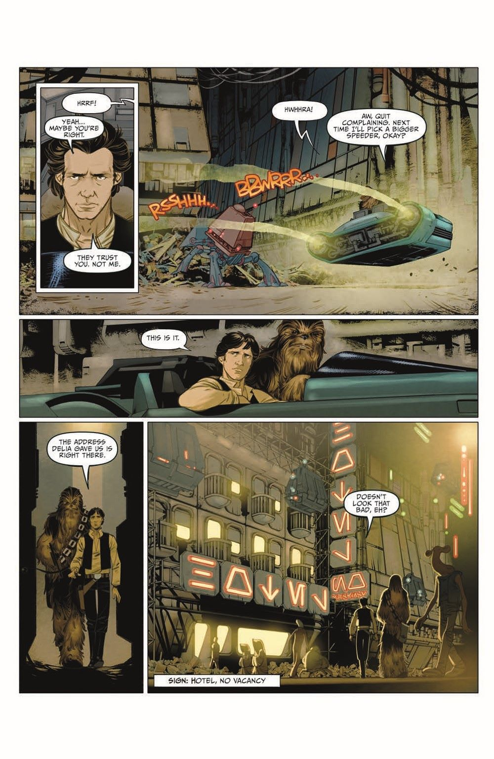 SWA_Smuggler02_pr-5 ComicList Previews: STAR WARS ADVENTURES SMUGGLER'S RUN #2 (OF 2)