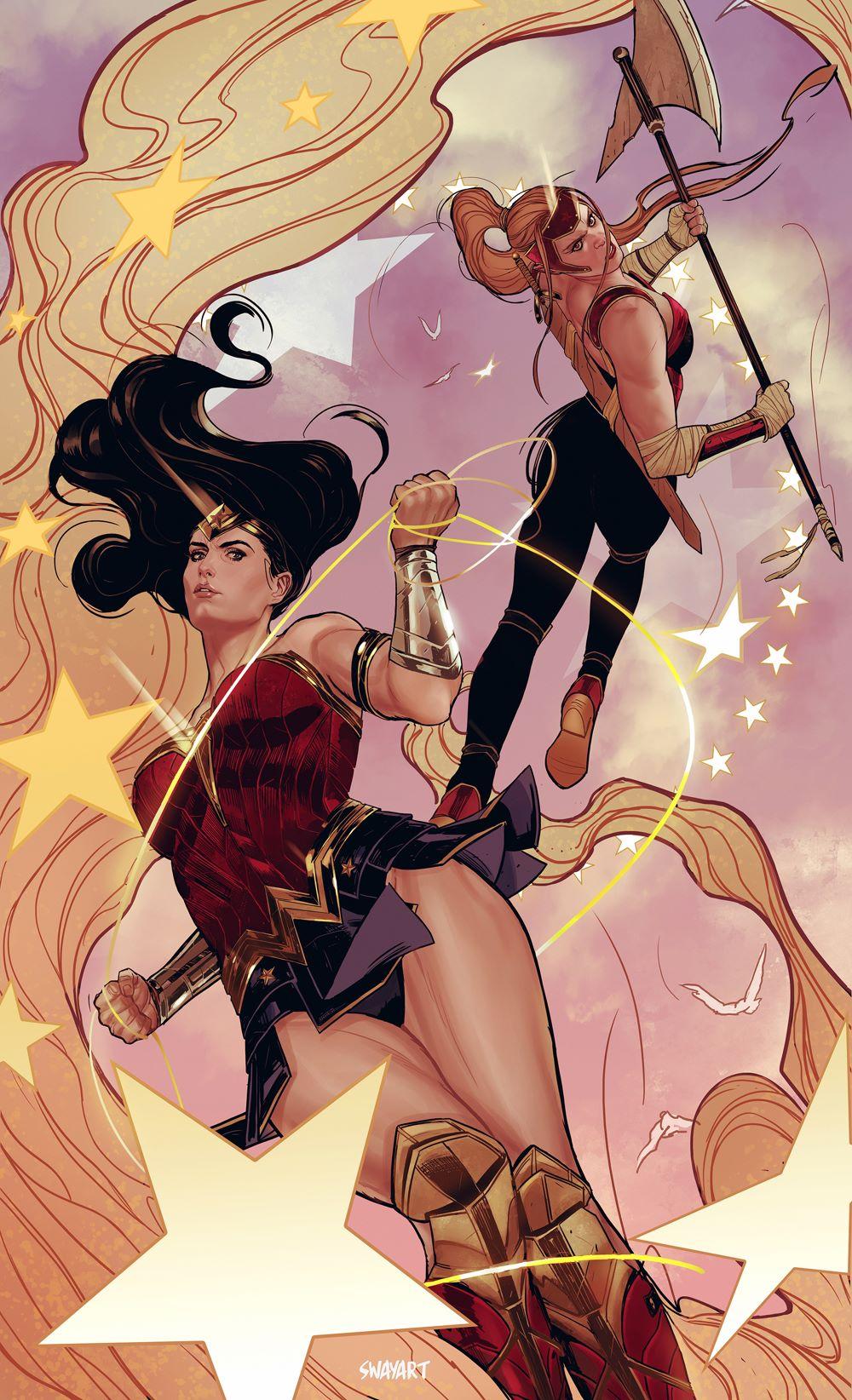 Sensational_WW_02_variant-swayart DC Comics April 2021 Solicitations