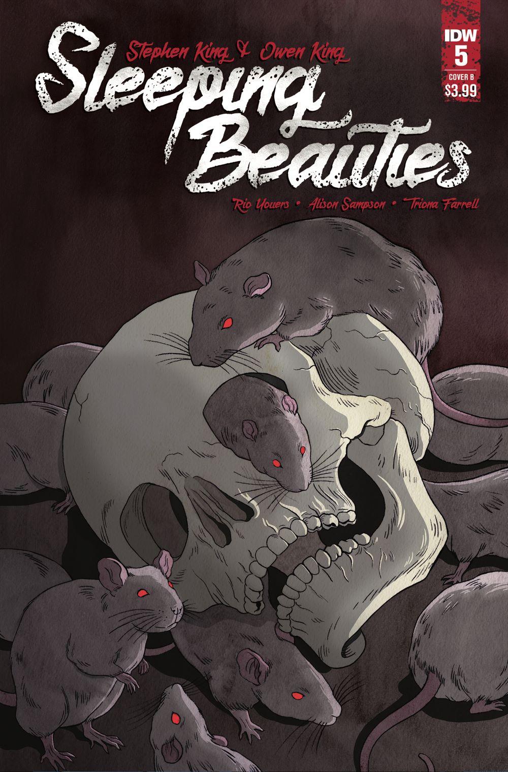 SleepingBeauties_05_CVR_B ComicList: IDW Publishing New Releases for 01/06/2021