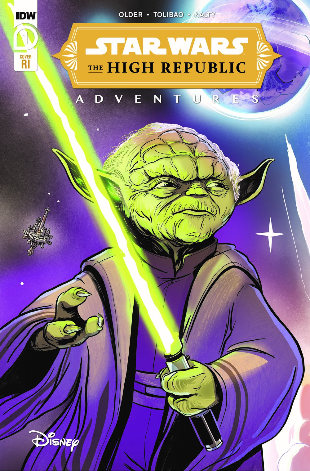 StarWarsHighRepublic-01-RI ComicList: IDW Publishing New Releases for 02/03/2021