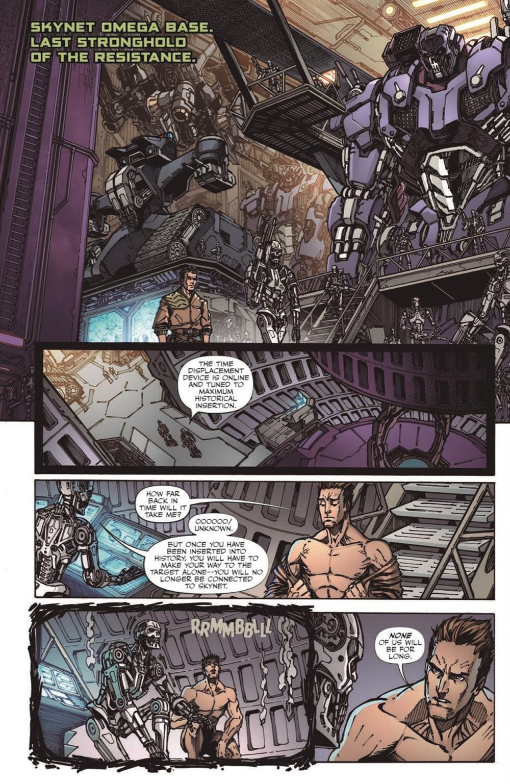 TF-vs-TERMINATOR-pr-8 ComicList Previews: TRANSFORMERS VS THE TERMINATOR ENEMY OF MY ENEMY TP