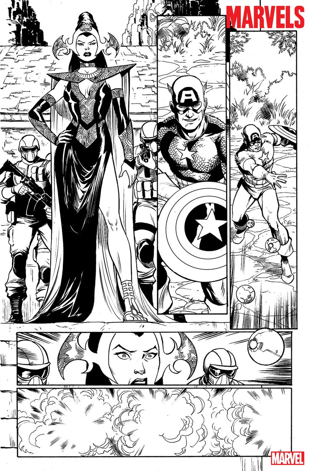 THE-MARVELS-Interior2 THE MARVELS gives Kurt Busiek full access to the Marvel Universe