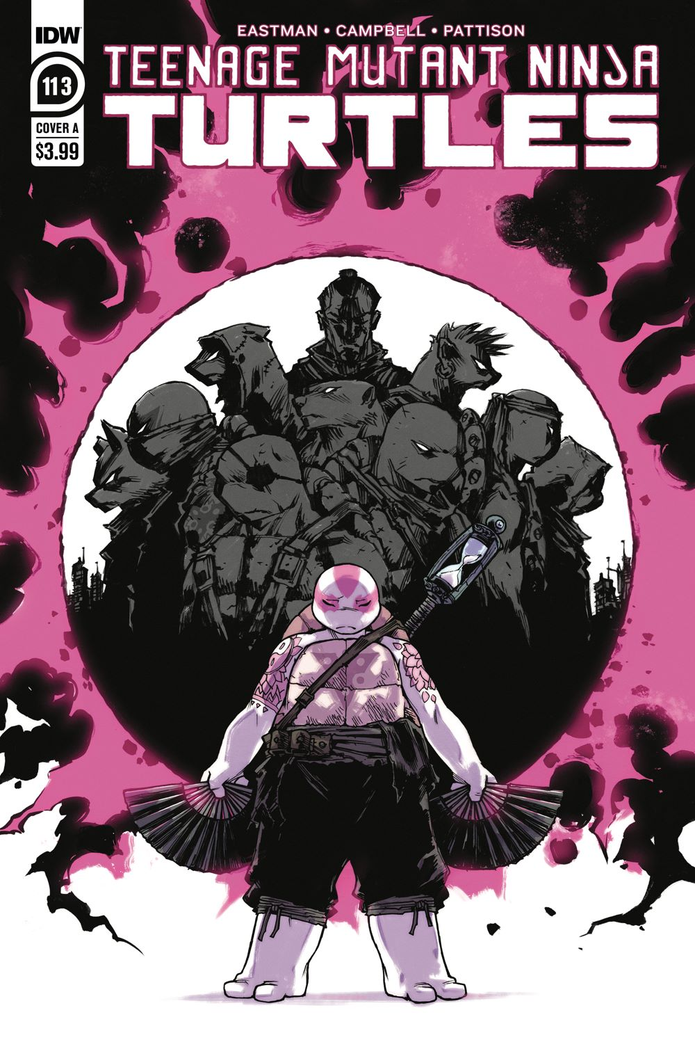 TMNT113_cvrA ComicList: IDW Publishing New Releases for 01/20/2021