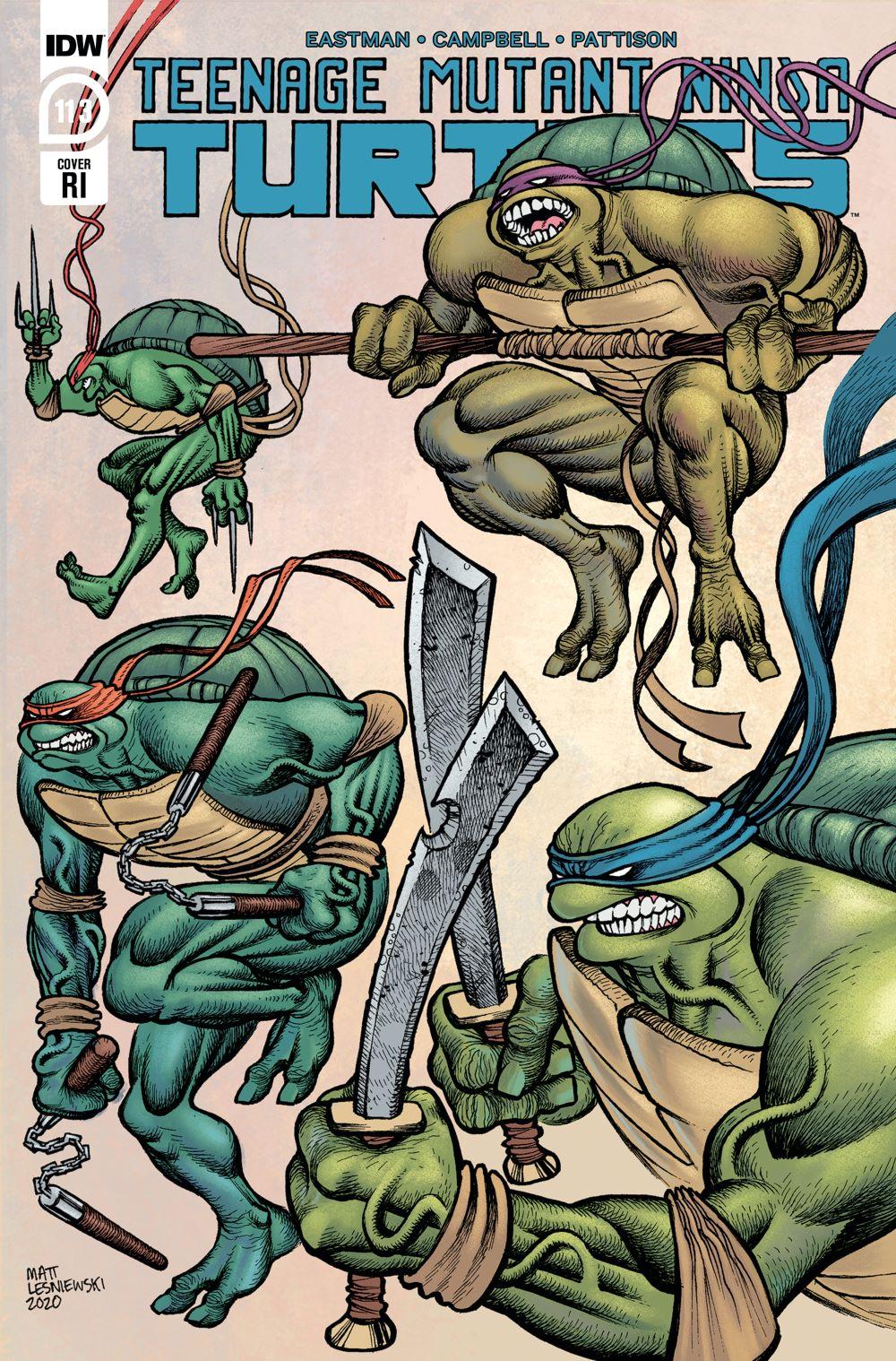 TMNT113_cvrRI ComicList: IDW Publishing New Releases for 01/20/2021
