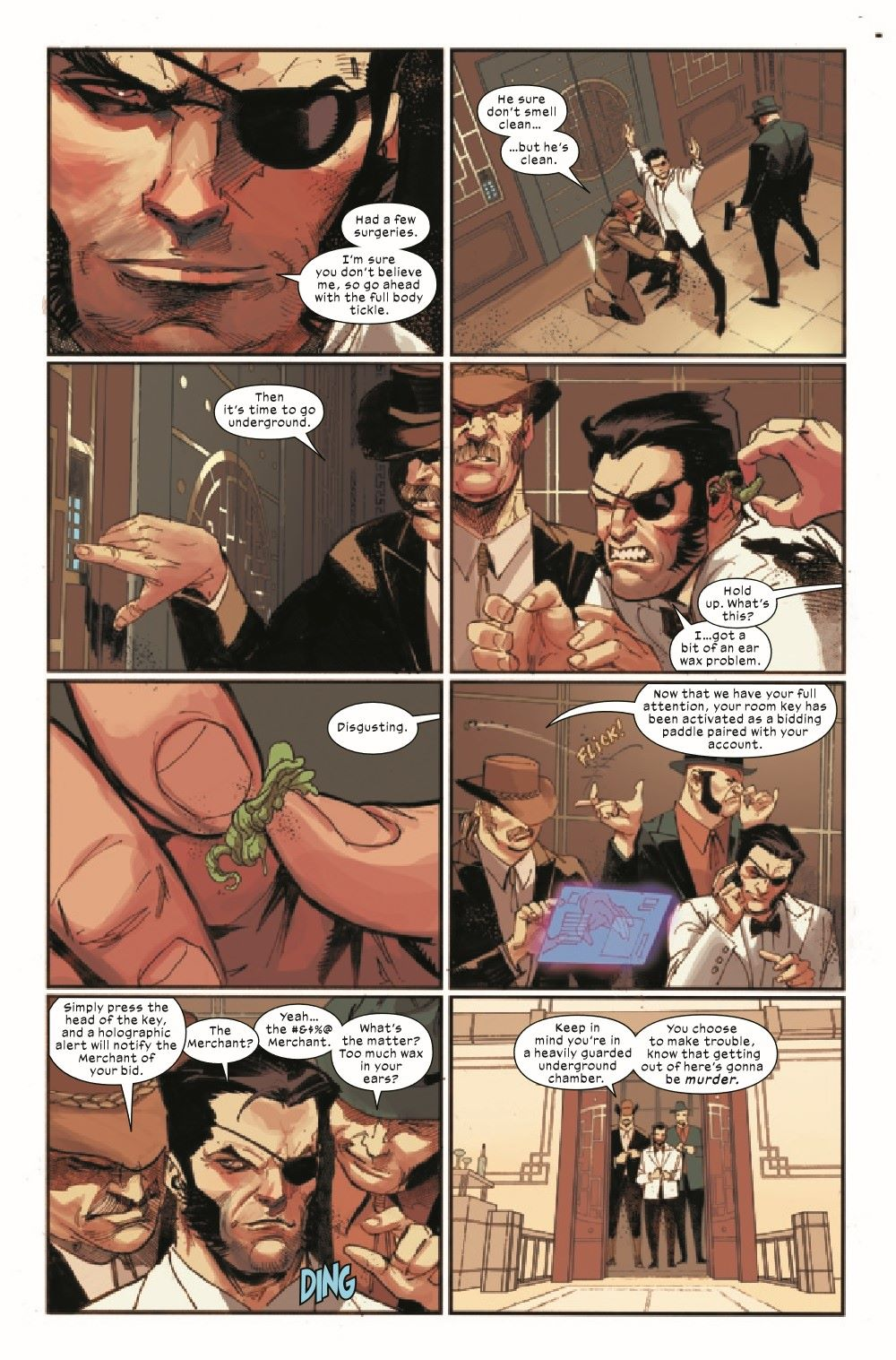 WOLV2020009_Preview-3 ComicList Previews: WOLVERINE #9