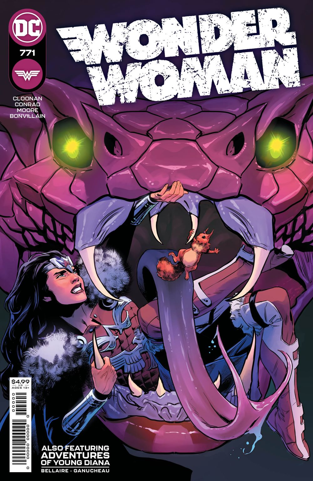 WONDERWOMAN_Cv771 DC Comics April 2021 Solicitations