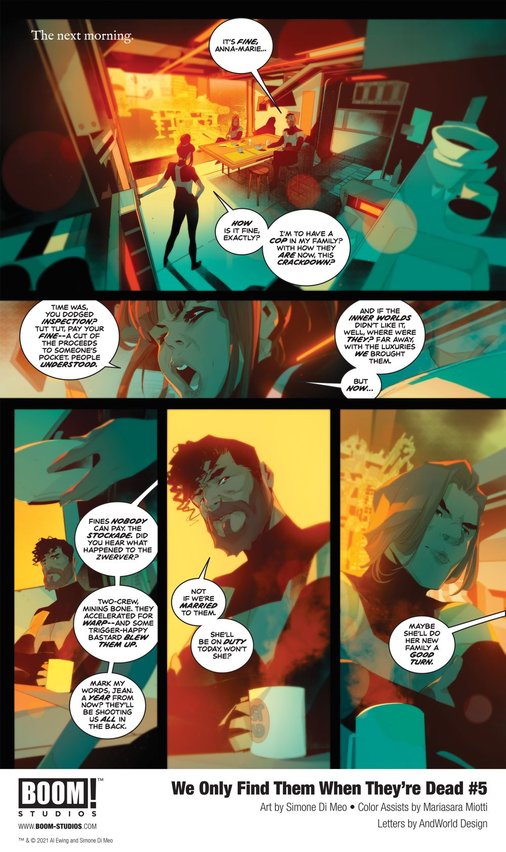 WeOnlyFindThem_005_InteriorArt_002_PROMO First Look at BOOM! Studios' WE ONLY FIND THEM WHEN THEY'RE DEAD #5