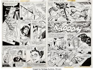 Wonder-Woman-230-Art-by-Jose-Delbo-and-Vince-Colletta-300x224 Wonder Woman 84 Art: Pop Quiz Cheetah Sheet
