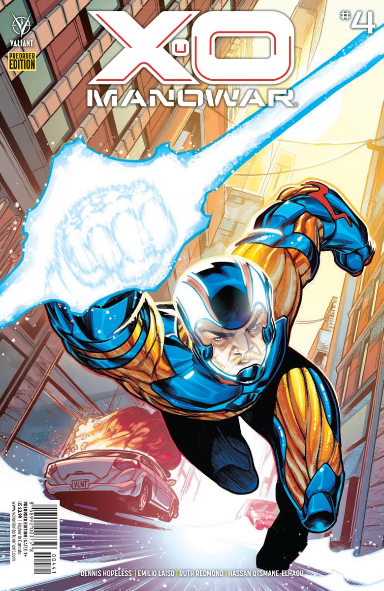 XO_4_PREORDER ComicList Previews: X-O MANOWAR #4