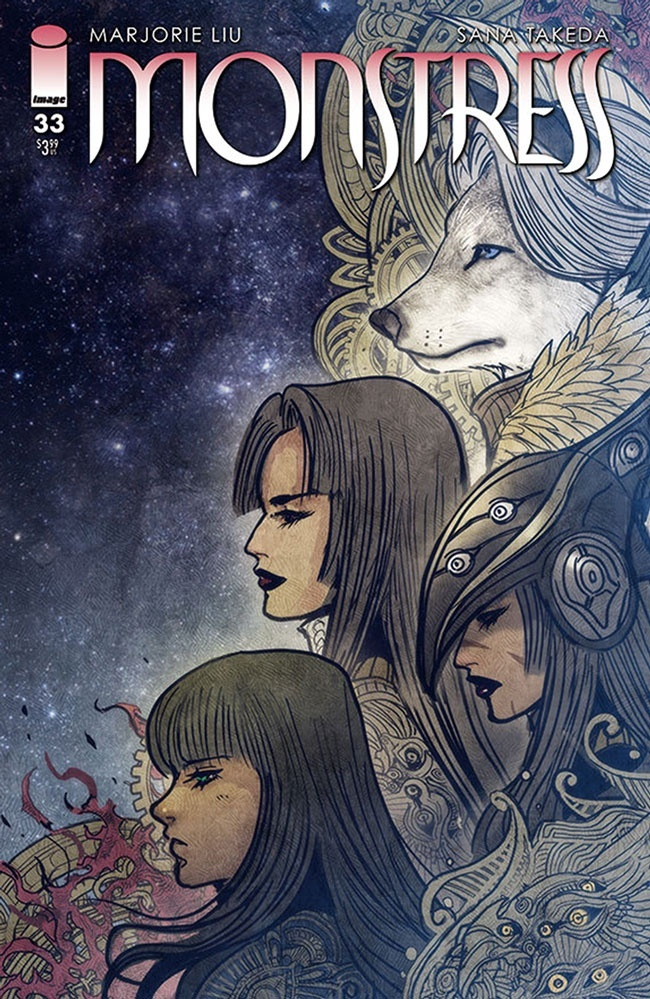 monstress_33 Image Comics April 2021 Solicitations