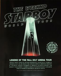 weeknd-poster-4-242x300 No Tears Here: Collecting The Weeknd Concert Posters