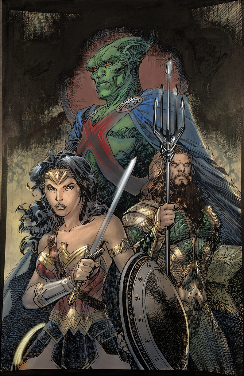 0121DC834 JUSTICE LEAGUE #95 to feature Snyder Cut variant covers