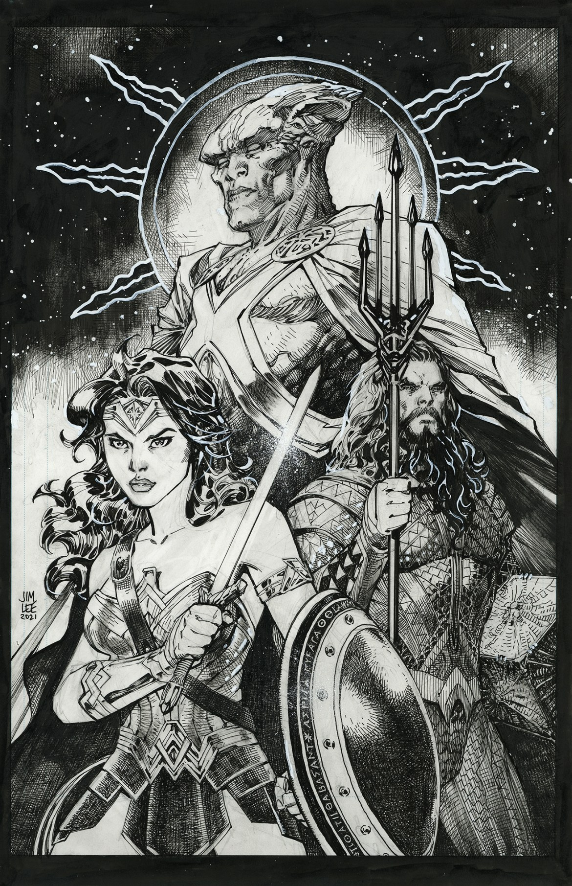 0121DC839 JUSTICE LEAGUE #95 to feature Snyder Cut variant covers