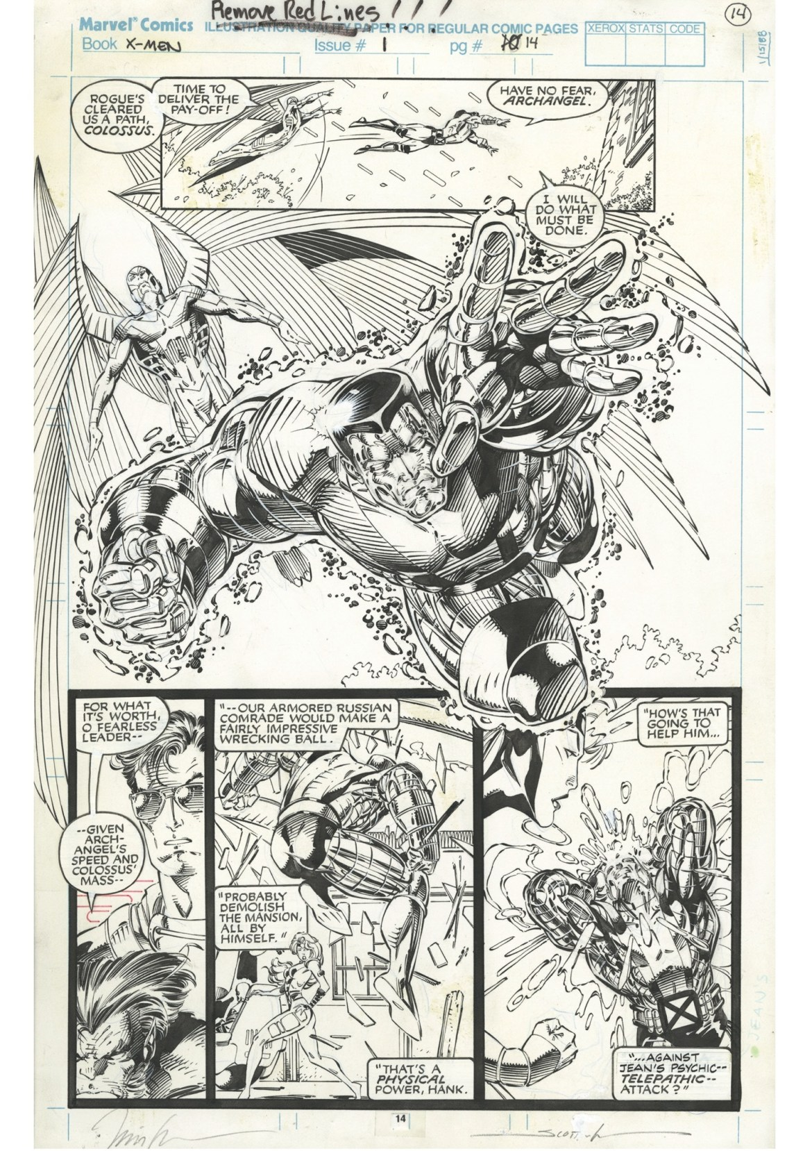 7c8e9b4e-d447-42f3-acb8-b8de4eca1a6c JIM LEE'S X-MEN ARTIST'S EDITION to contain the best selling X-Men #1