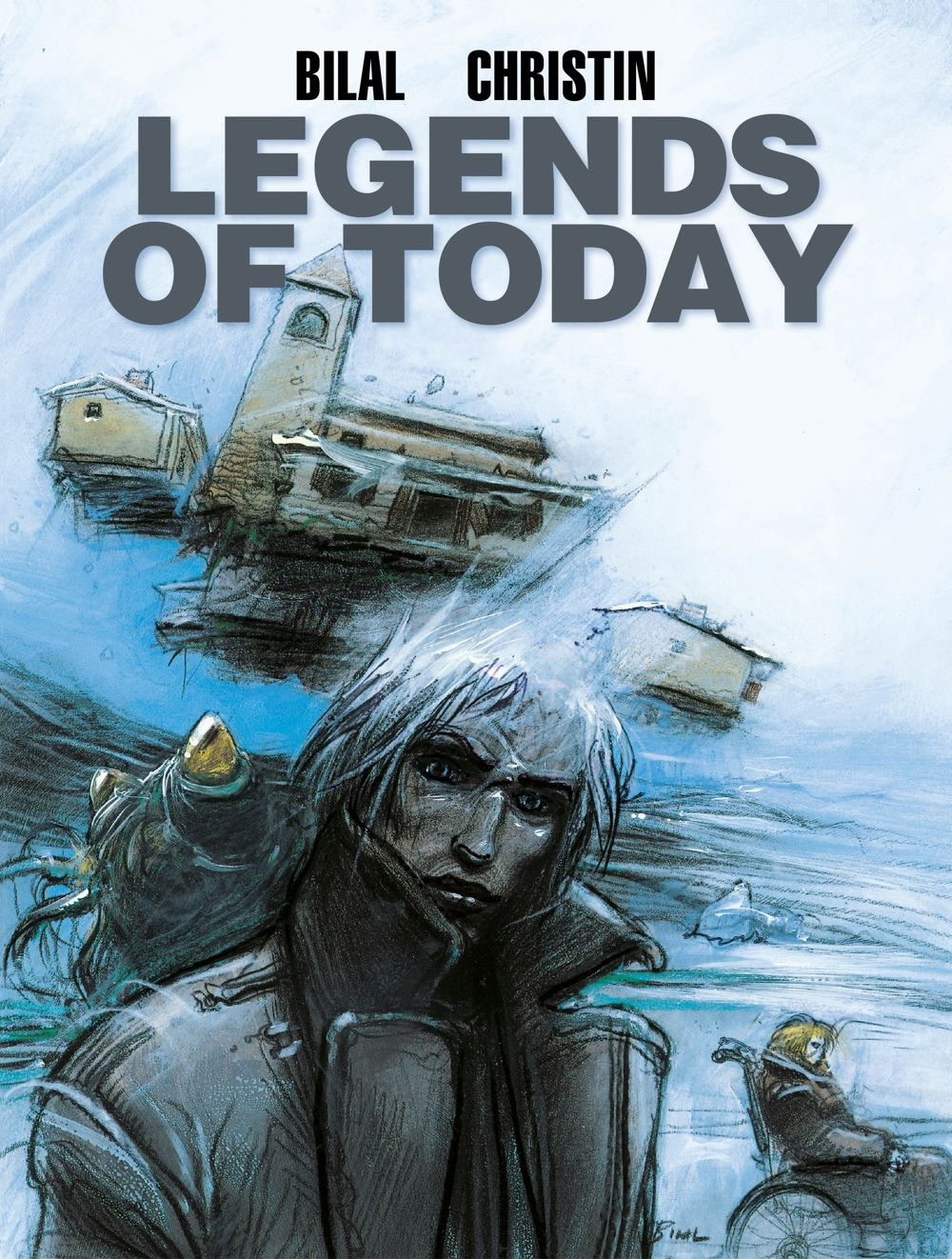 9781785868740-2 ComicList Previews: ENKI BILAL LIBRARY VOLUME 1 LEGENDS OF TODAY HC