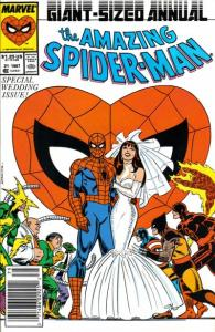 ASM-Annual-21-Spidey-cover-195x300 Spidey Rules the List: Hottest Comics 2/4