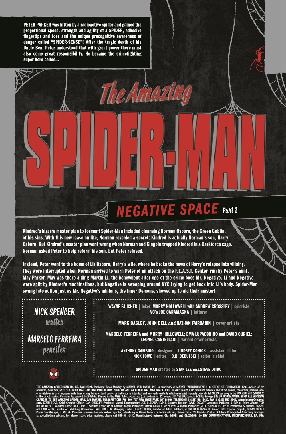 ASM2018059_Preview-2 ComicList Previews: THE AMAZING SPIDER-MAN #59