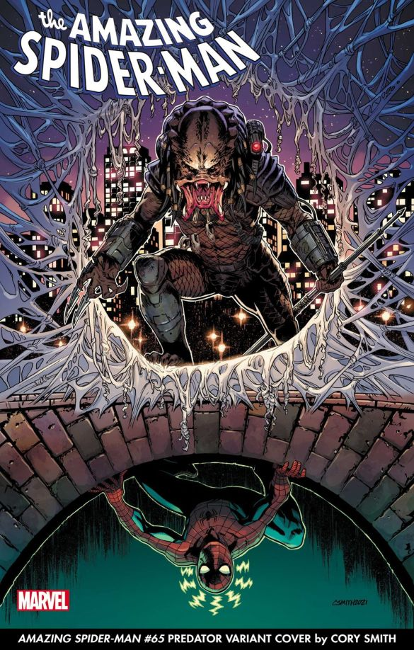 ASM2018065_Smith_PredatorVar-1 The Predator to capture Marvel Comics variant covers