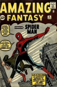 Amazing-Fantasy-15-199x300 The Collection and Courage of Spider-Steve Levine