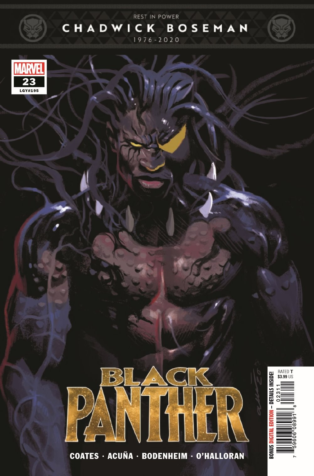 BLAP2018023_Preview-1 ComicList Previews: BLACK PANTHER #23