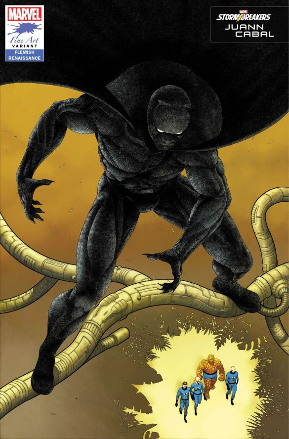 BLAP25_FINEART_CABAL Marvel's Stormbreakers to create BLACK PANTHER Fine Art variants