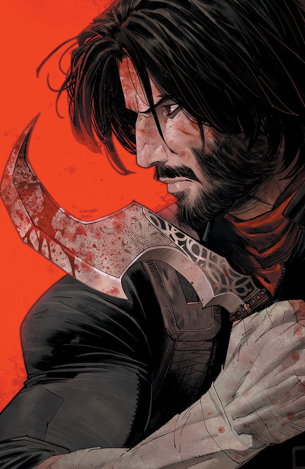 BRZRKR_001_Cover_M_Variant_001_LOW ComicList: BOOM! Studios New Releases for 03/03/2021