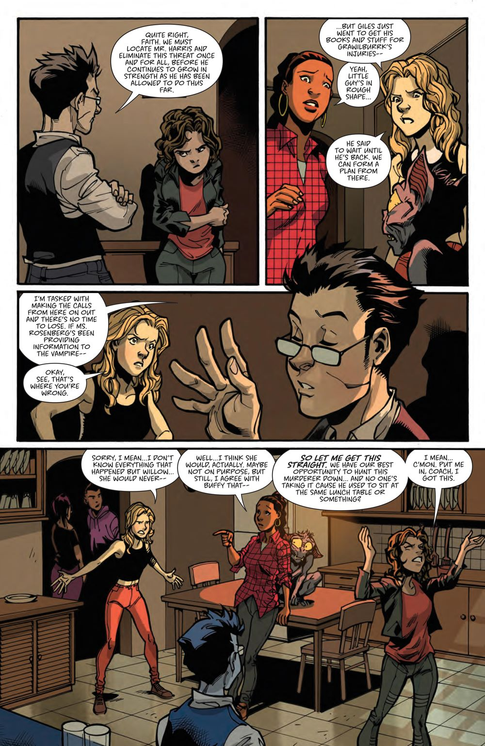 Buffy_023_PRESS_7 ComicList Previews: BUFFY THE VAMPIRE SLAYER #23