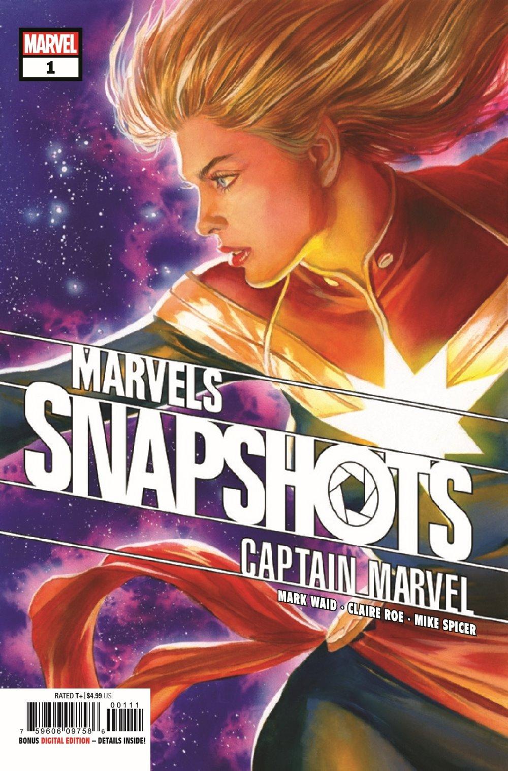 CAPMARVSNAP2020001_Preview-1 ComicList Previews: CAPTAIN MARVEL MARVELS SNAPSHOTS #1