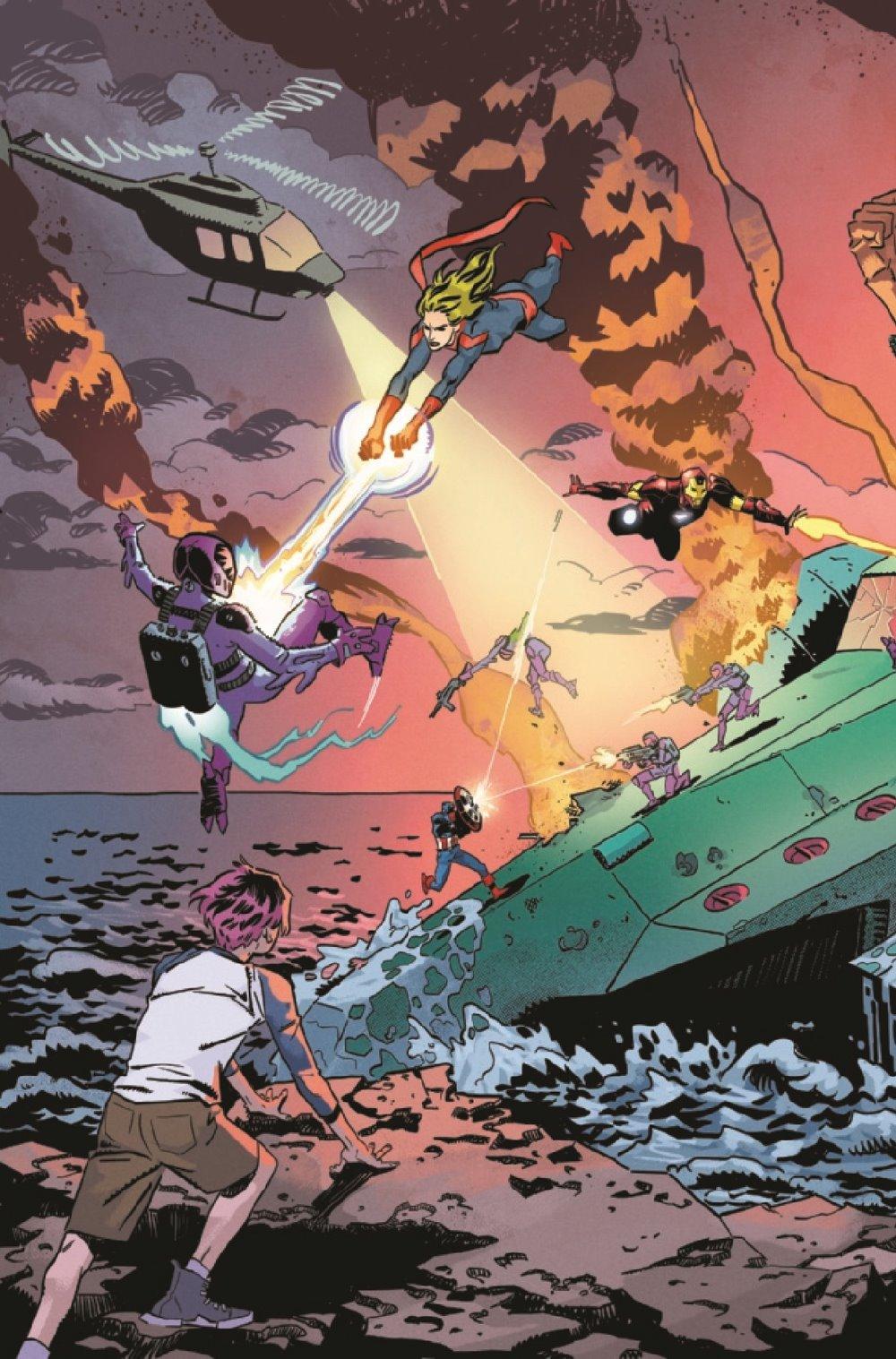 CAPMARVSNAP2020001_Preview-5 ComicList Previews: CAPTAIN MARVEL MARVELS SNAPSHOTS #1