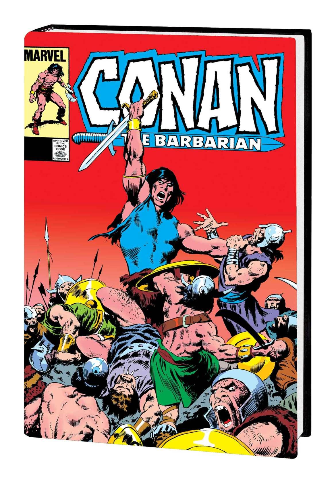 CONANBARB_OMNIV06HC_BUSCEMA Marvel Comics May 2021 Solicitations