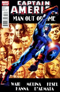 Captain-America-Man-Out-of-Time-196x300 Right Wing & Left Wing Comic Cameos