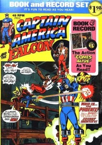 Captain-America-and-Falcon-Book-and-Record-Set-PR12-211x300 Power Records Comics: Superheroes, SciFi, and More