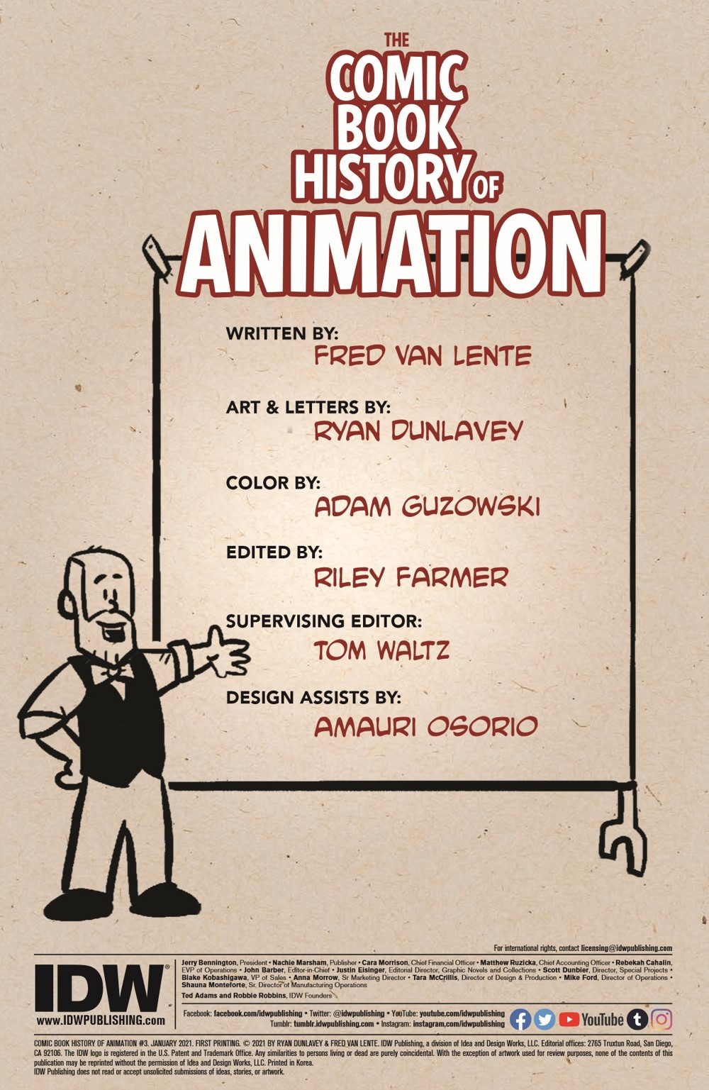 ComicBookHistory_03_pr-2 ComicList Previews: COMIC BOOK HISTORY OF ANIMATION #3 (OF 5)