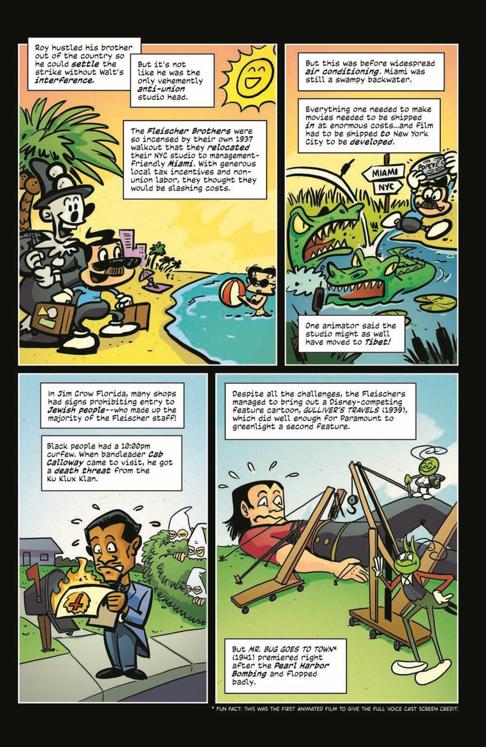 ComicBookHistory_03_pr-6 ComicList Previews: COMIC BOOK HISTORY OF ANIMATION #3 (OF 5)