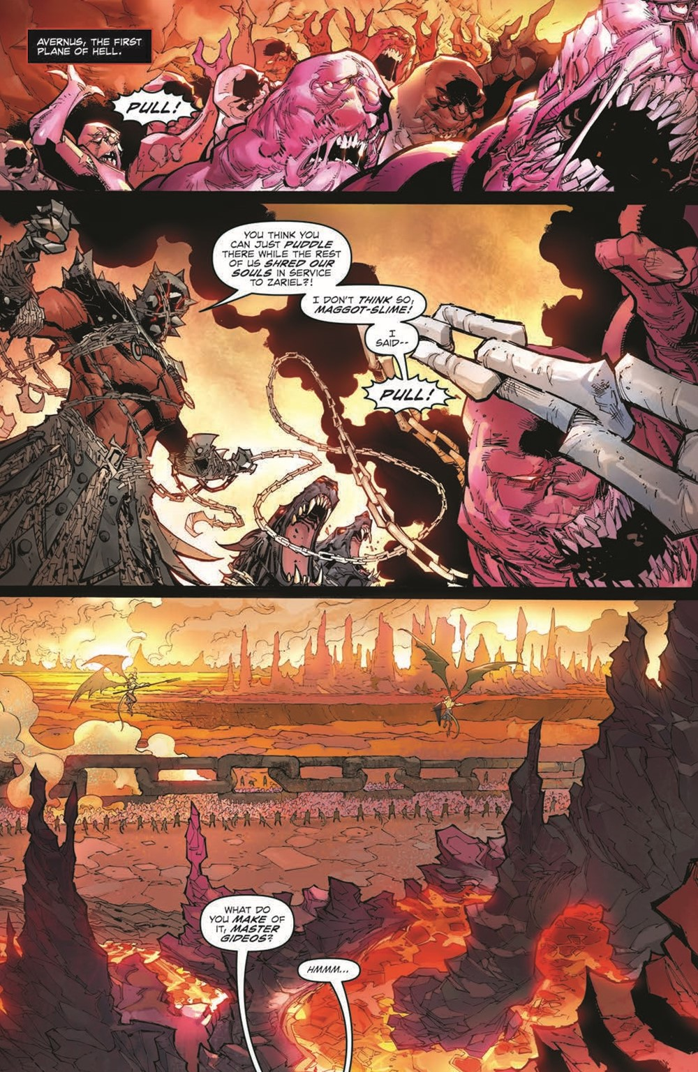 DnD_IF_TPB_pr-4 ComicList Previews: DUNGEONS AND DRAGONS INFERNAL TIDES TP