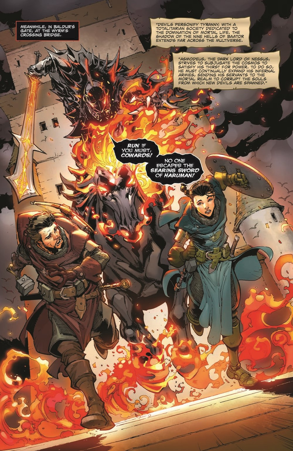 DnD_IF_TPB_pr-6 ComicList Previews: DUNGEONS AND DRAGONS INFERNAL TIDES TP
