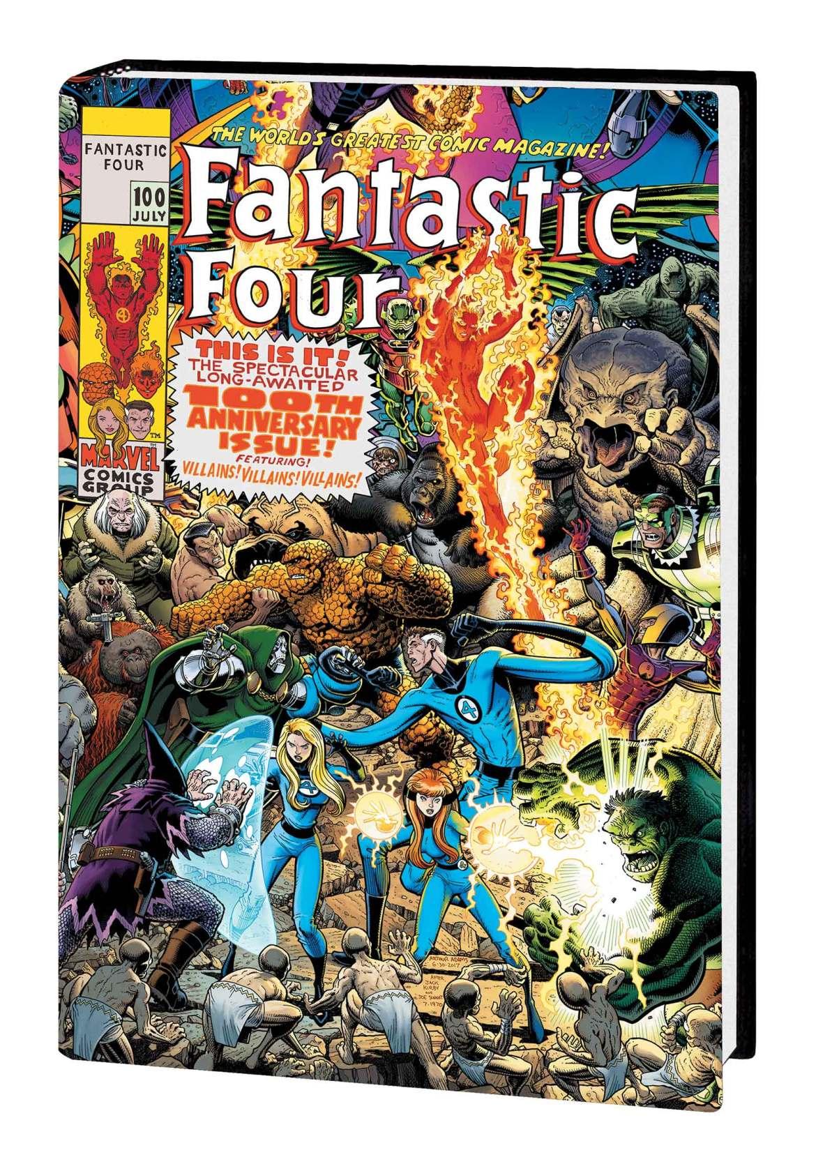 FF_OMNIBUS_V4_HC_ADAMS Marvel Comics May 2021 Solicitations
