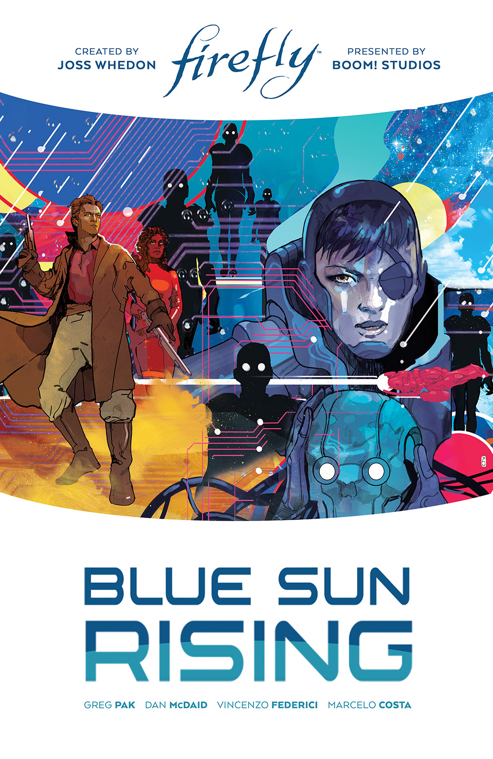 Firefly_BlueSunRising_LimitedEdition_HC_Cover BOOM! Studios May 2021 Solicitations