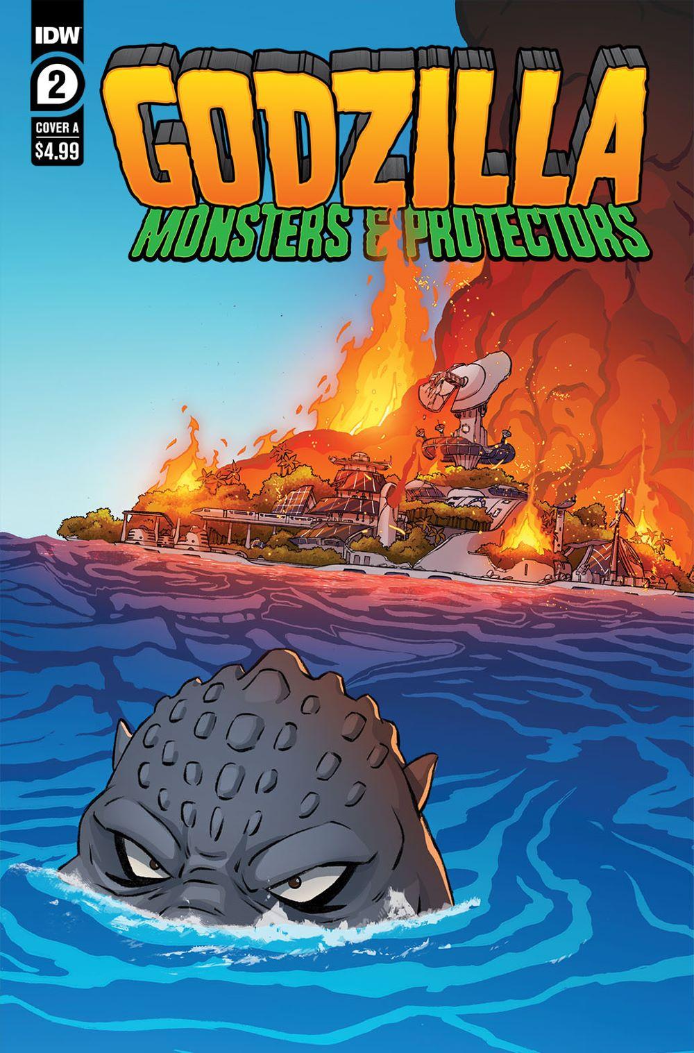 Godzilla_MP02-coverA-copy IDW Publishing May 2021 Solicitations