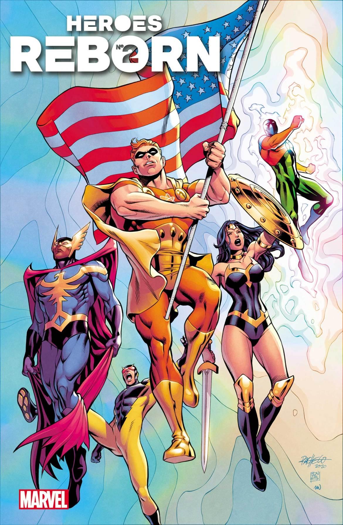 HEROESREBORN2021002_Pacheco_Var Marvel Comics May 2021 Solicitations
